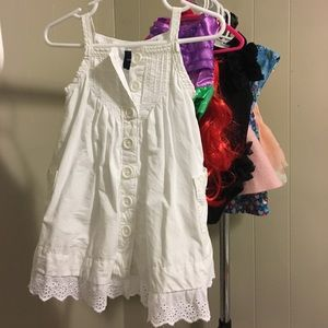 White babygap dress